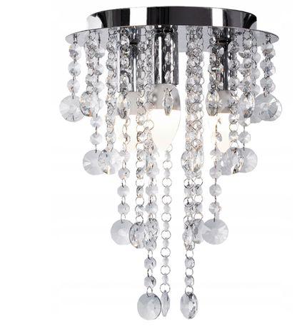 LAMPA sufitowa KRYSZTAŁOWA Plafon GLAMOUR żyrandol