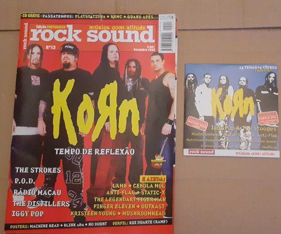 Revistas Rock Sound c/ Poster + CD Música