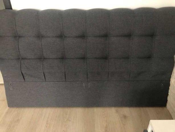 Rama łóżka, zagłówek  i stelaż 160 x 200 cm