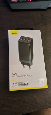Ładowarka Baseus GaN 65W qucik charge 4 3 power delivery USB 3 typ c