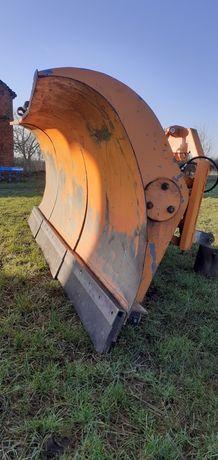 Pług śnieżny do ciągnika jak i ciężarówki  3 m solidna konstrukcja