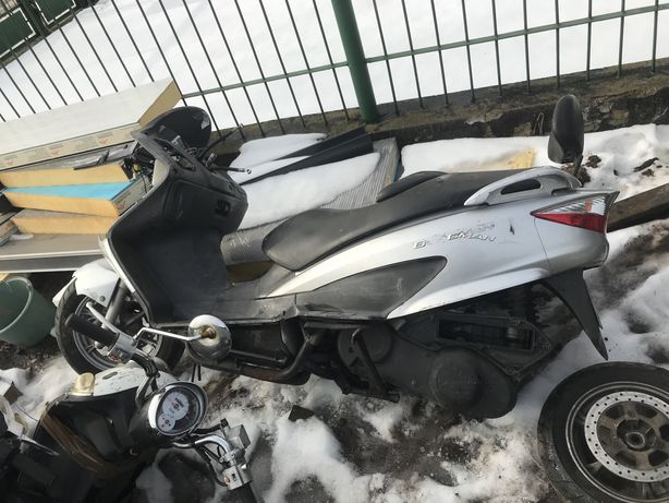 Suzuki burgaman 125 uh silnik wtrysk instalacja siedzenie moduł