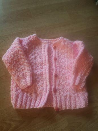 Sweterek dla dziewczynki rozmiar 68