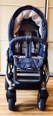 Детская коляска Teutonia Cosmo V3 + детское кресло