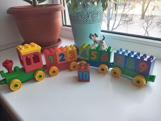 Лего поїзд Duplo (оригінал)