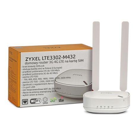 ZyXel LTE3302-M432 2x antena domowy router na kartę SIM WiFi 3G 4G LTE