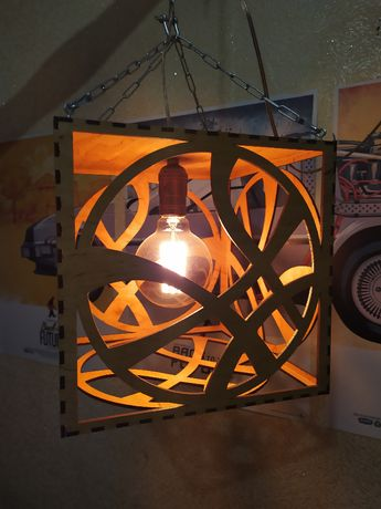 Лампа ночник для фанатов Марвел