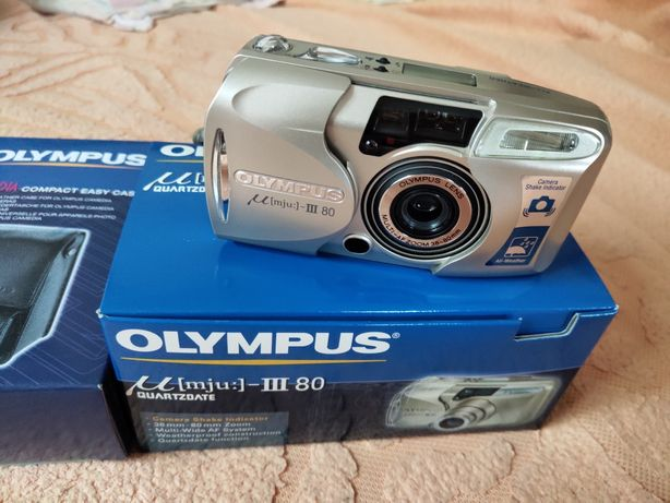 Фотоаппарат новый Olympus mju:-III 80