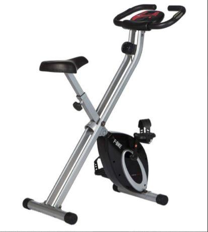 Rower treningowy Ultrasport F-Bike trenażer LCD składany pulsometr EKG
