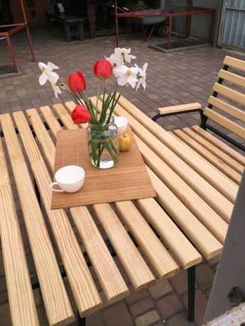Стол лавки. Комплекты мебели. Для дачи, террас и летних площадок