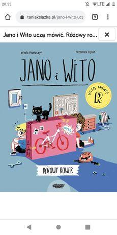 Jano i Wito Różowy rower