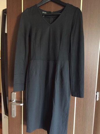 ESCADA Sport czarna sukienka, idealna do pracy rozmiar 36