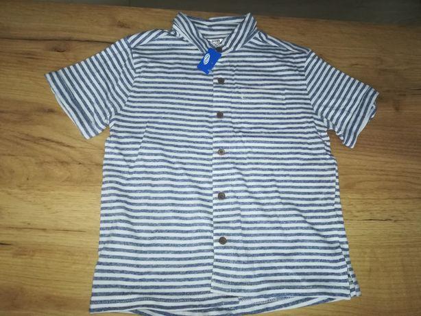 Koszula koszulka chłopiec 116