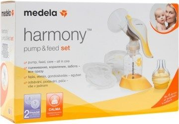 "Набор Medela'""Harmony Pump & Feed"" (молокоотсос, соска, вкладыши)"