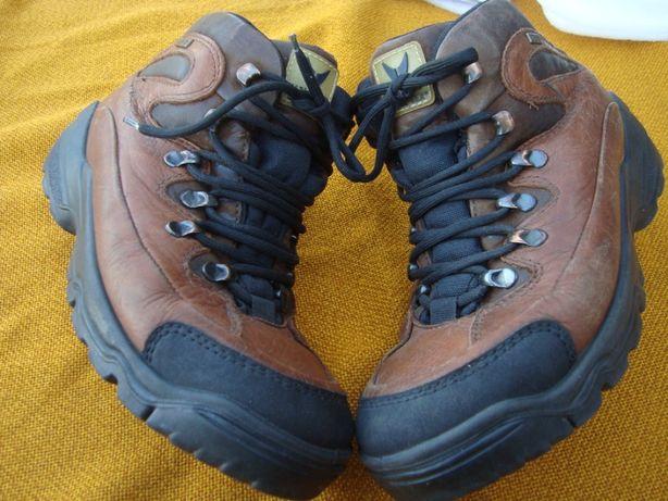 buty górskie Viking -Gore Tex roz 41- 26 cm- skóra -Norweskie