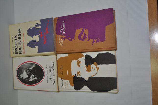 4 livros - Diversos