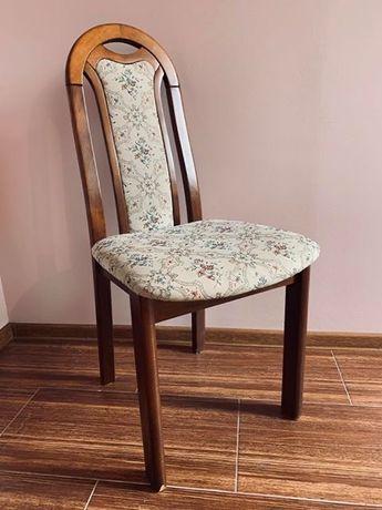 Krzesła tapicerowane dębowe