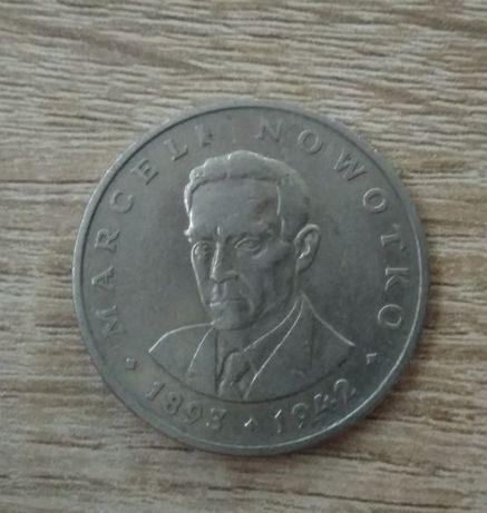 Moneta 20zł MARCEL NOWOTKO sprzed denominacji
