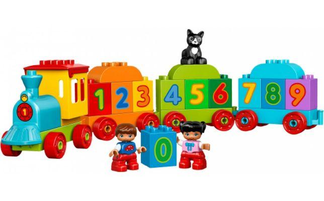 Конструктор LEGO DUPLO Поезд «Считай и играй»