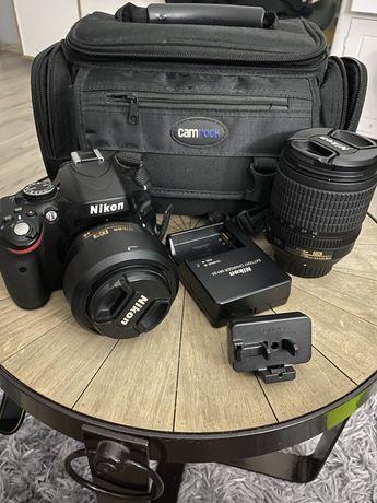 Nikon D5100 duzy zestaw