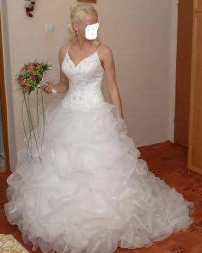 Sukienka ślubna roz 36