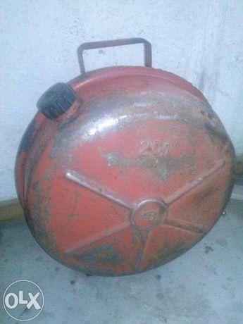 канистра металлическая б/у 20 литров для ГСМ