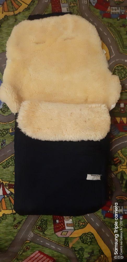 Конверт зимный на овчине фирмы Mindelpelz Кременчуг - изображение 1