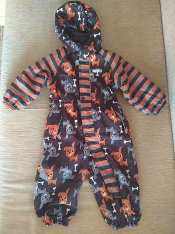 Комбинезон Reima зимний, размер 86+6 + флисовый костюм Reima TEC