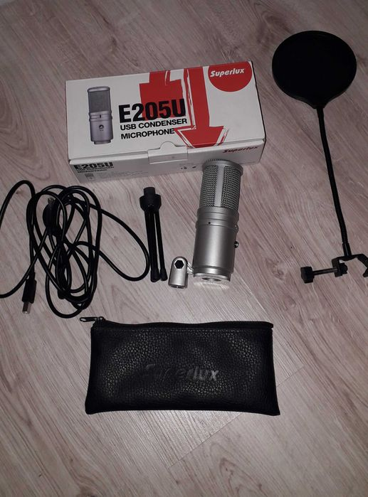 Mikrofon Superlux E205U + Pop Filtr Rypin - image 1