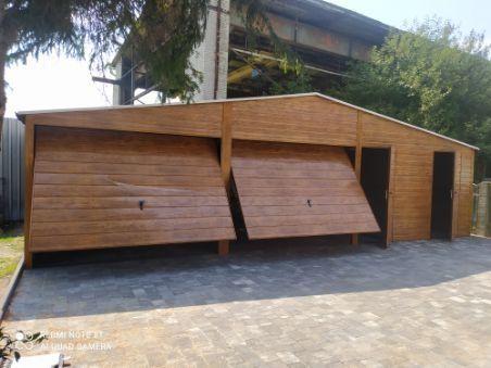 Garaże blaszane drewnopodobne!!