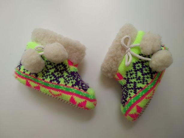 пинетки, сапожки, валенки теплые, ботинки