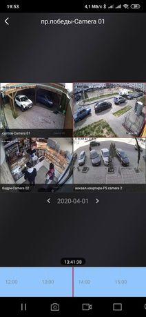 Установка видеонаблюдения , ДоМофонов, видеонаблюдение .
