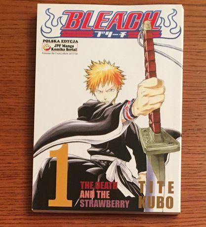 Manga Bleach tom 1