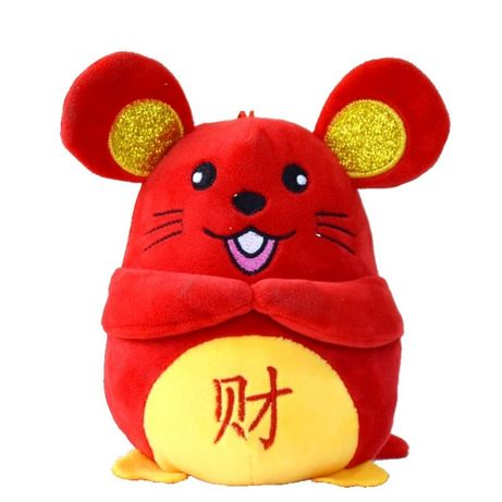 крыса мышь плюшевая 10шт