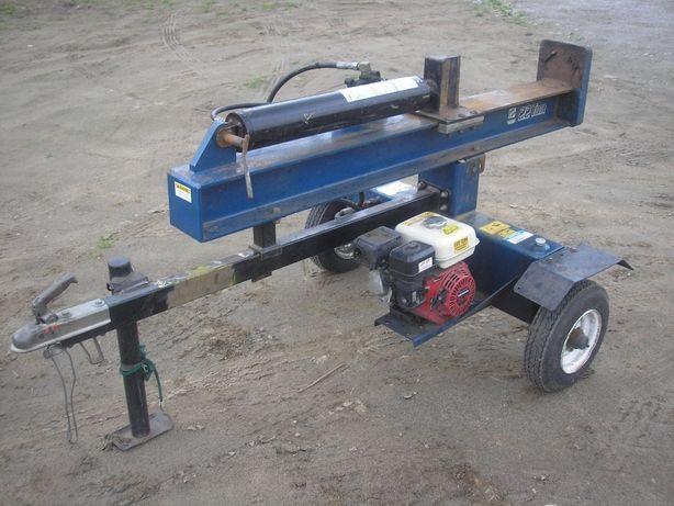 łupak drewna łuparka spalinowa 22tony honda hydrauliczna