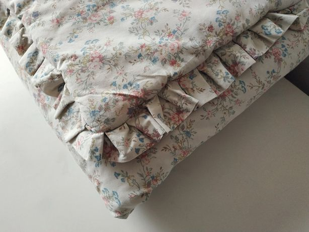 pościel niemowlęca z wypełnieniem 95x70, poduszka i kołdra do łóżeczka