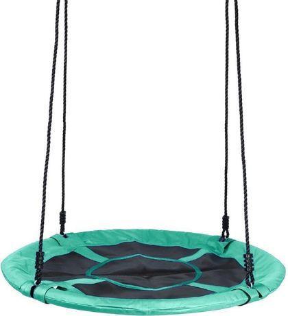 Huśtawka ogrodowa bocianie gniazdo dla dzieci 110 cm