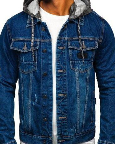 Kurtka męska jeansowa rozm od M do 3XL