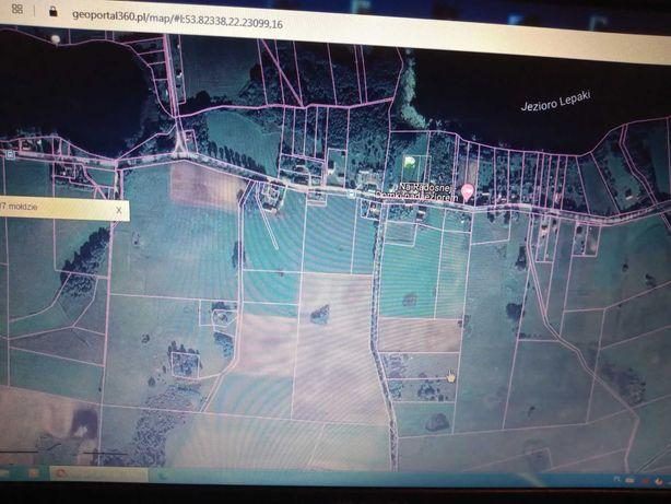 Działka 3000m2 Mołdzie okolice Ełku