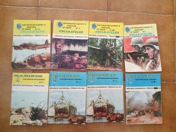 8 BD de guerra vintage