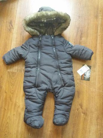 Kombinezon zimowy dla dziecka 3-6m
