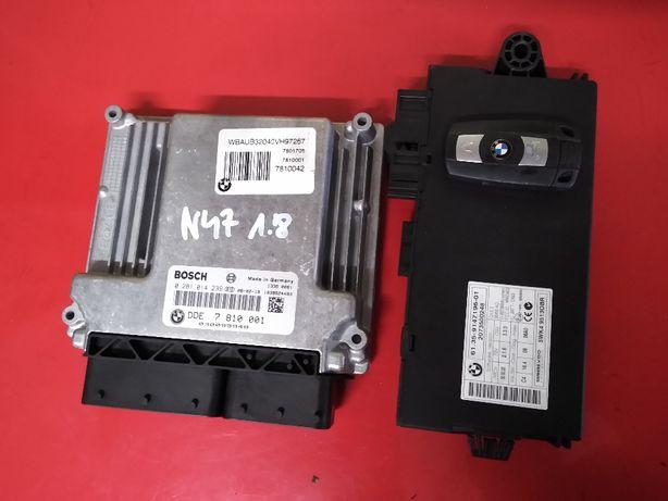 BMW N47 E87 E81 116D 118D E90 318D komputer silnika cas klucz