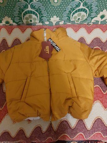 Куртка укороченная зефирка
