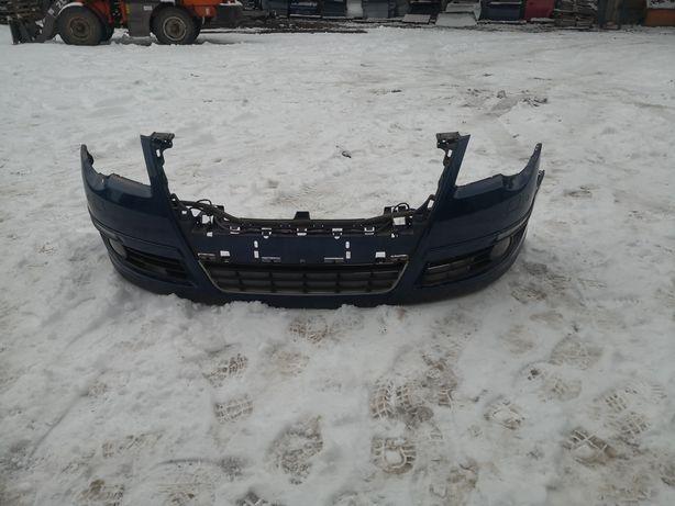 Vw Passat B6 Przedni zderzak lc5e Parktronik spryskiwacze