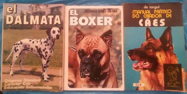 livros de Cães várias raças