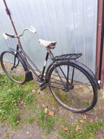 Stary,zabytkowy rower, Polski,