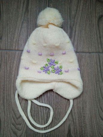 Шапка осень, холодная осень для новорожденной девочки