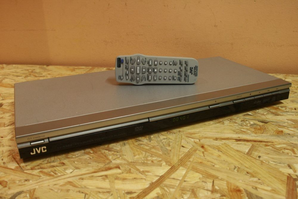 Solidny Odtwarzacz DVD/CD/MP3/WMA/VCD JVC XV-N352 + pilot! Wysyłam! Nowy Targ - image 1