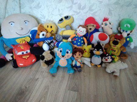 Мягкие игрушки герои мультфильмов