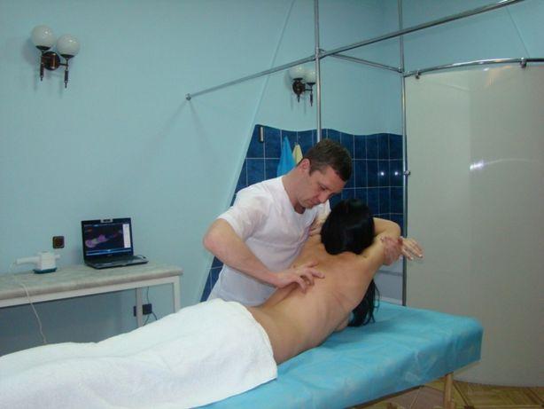 Лечебный массаж спины. Общий массаж, детский в Одессе